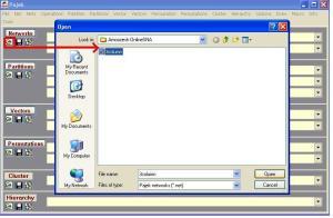 بازکردن فایل شبکه در پاجک