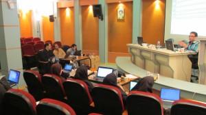 جلسه دوم از هفتمین دوره کارگاه تحلیل شبکه اجتماعی ۱
