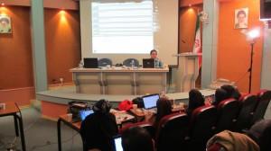 جلسه دوم از هفتمین دوره کارگاه تحلیل شبکه اجتماعی ۲